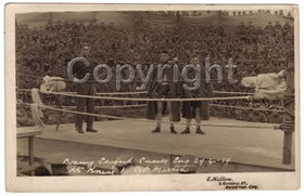Boxing at Seaford, 1919